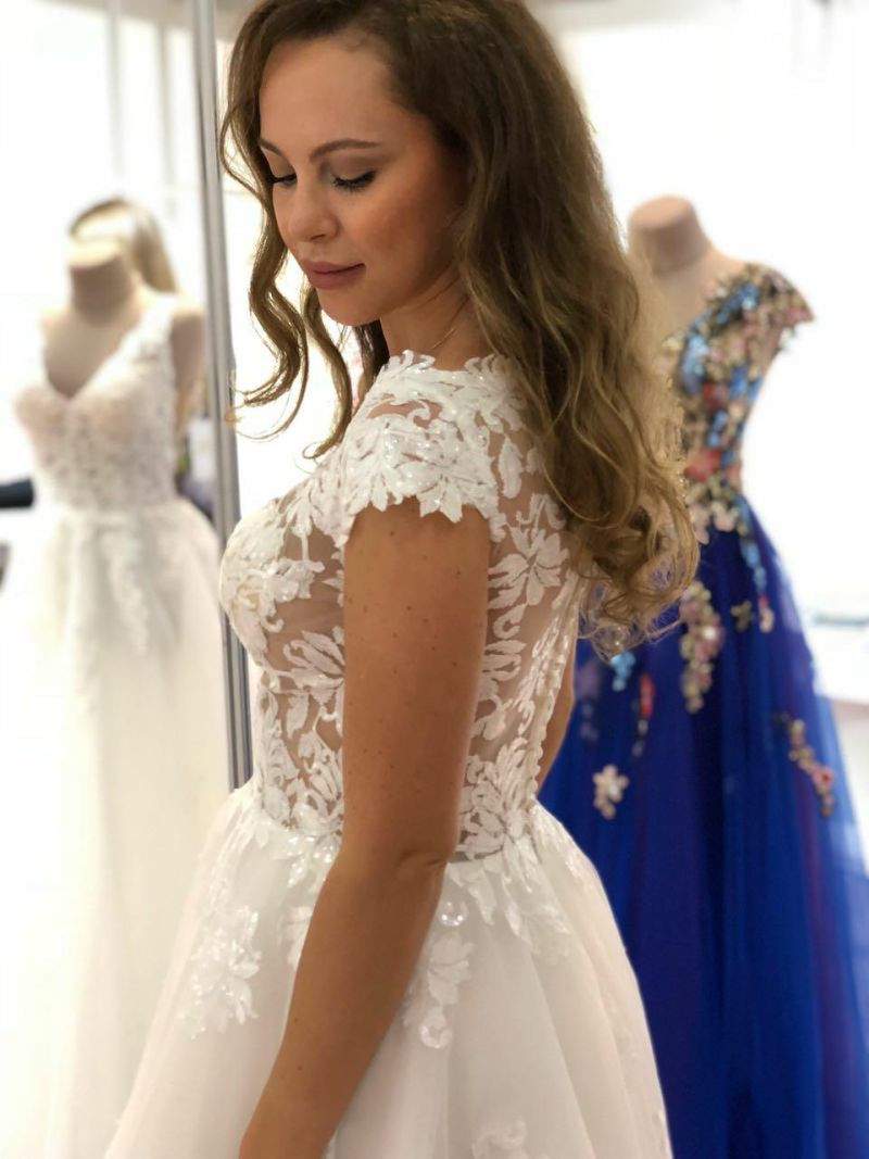 20141410fb2d Svadobné šaty Brooke - Annette Moretti - Essen