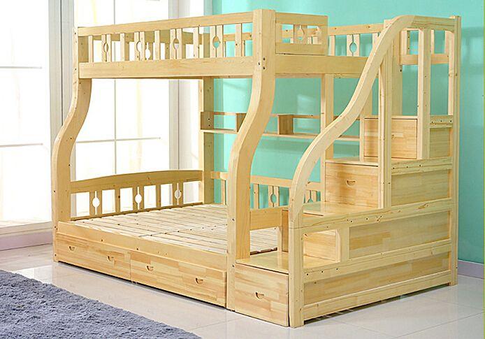 2015 moda ni os litera de madera para los viejones - Literas infantiles de madera ...
