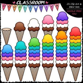 12++ 1 ice cream scoop clipart ideas