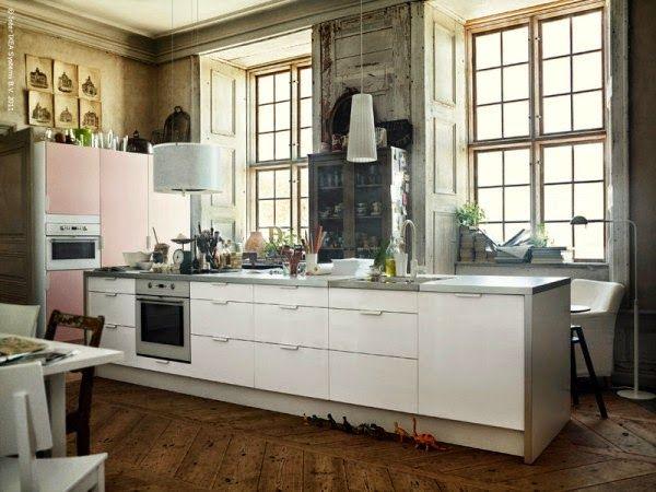 Hjertelig: IKEA køk i kreativt miljø