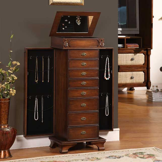 6a1d70bec Maldala Kafe Jewelry Armoire - On Special: $297.00 With Free Shipping
