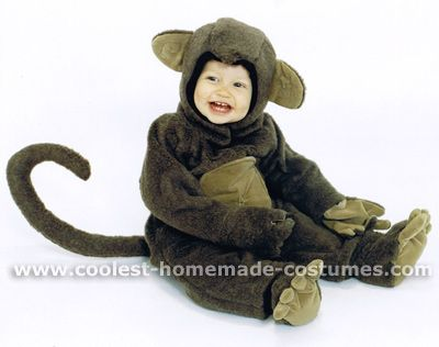 Coolest Homemade Monkey Costumes for Toddlers Monkey costumes - womens halloween ideas