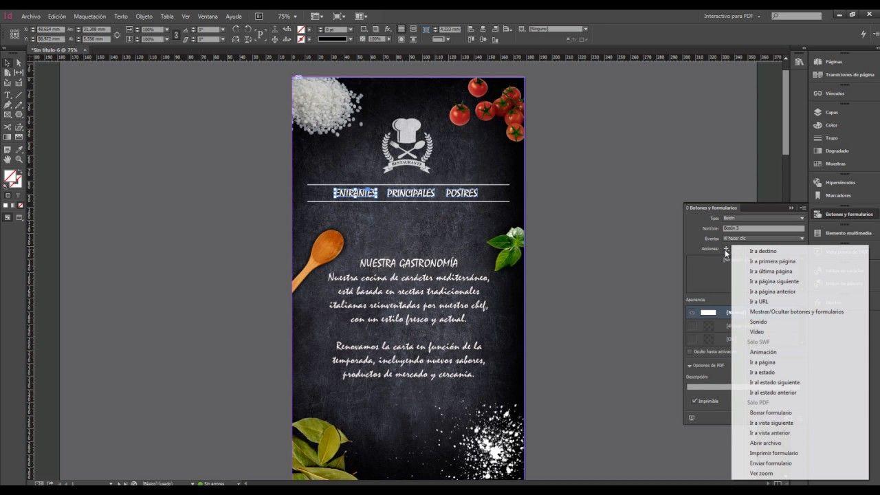 Cómo Crear Un Pdf Interactivo Disenos De Unas Diseño Interactivo Diseño Grafico