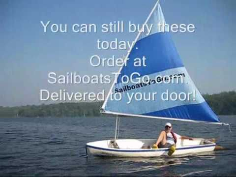 Snark Styrofoam Sailboat with Kool Sail, from 1972  Like