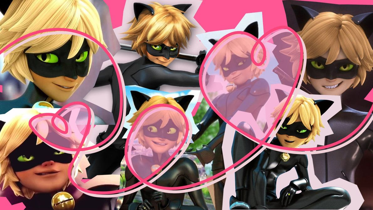 Chat Noir Wallpaper By Mltrashdump On Deviantart Lookwhat