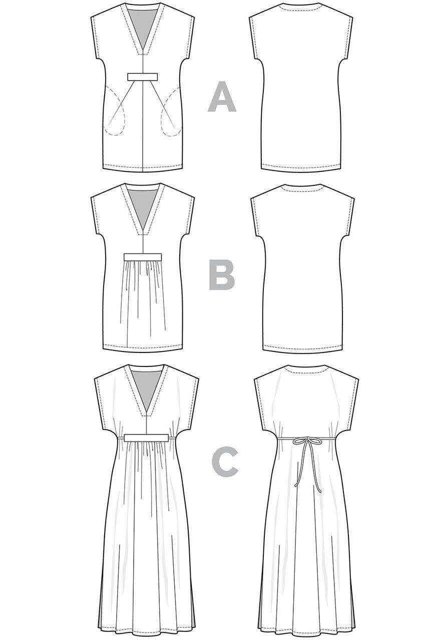 Charlie caftan pattern | Stoffe, Kleider und Handarbeiten
