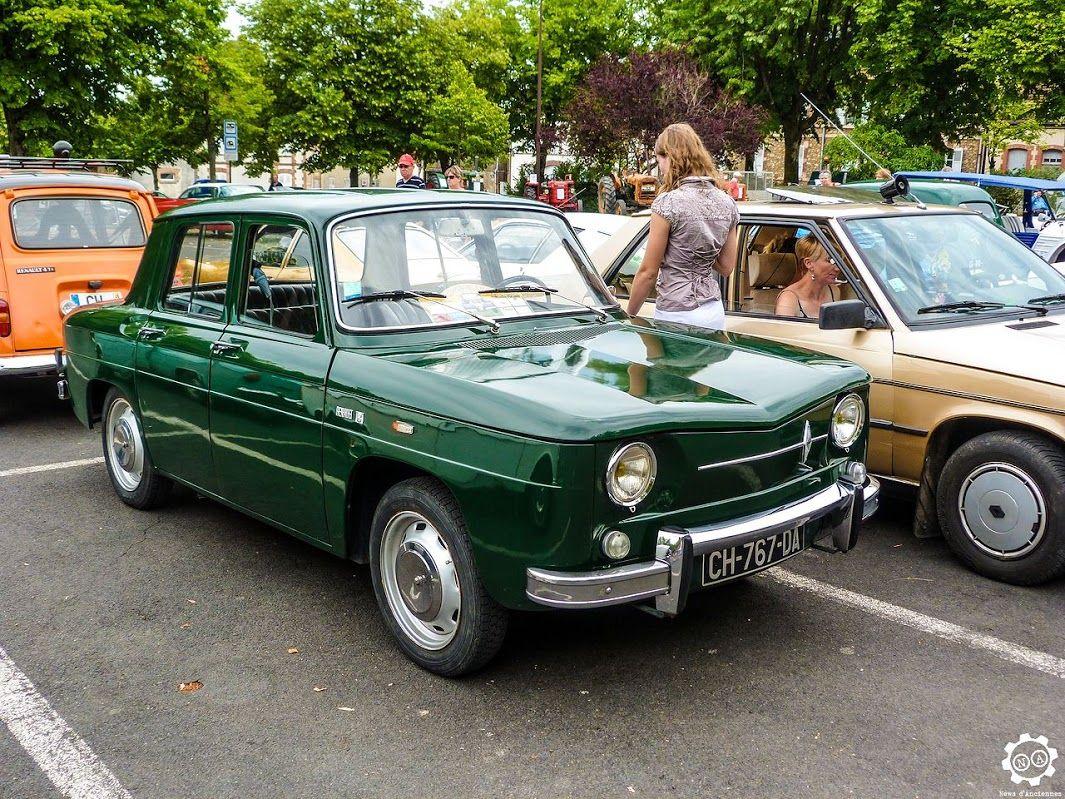 #Renault #8 à la Promenade des Coteaux Sézannais. Reportage : http://newsdanciennes.com/2015/07/05/grand-format-sezanne-retromobile-et-promenade-des-coteaux-sezannais/ #Vintage #Car #Carpics #Voitures