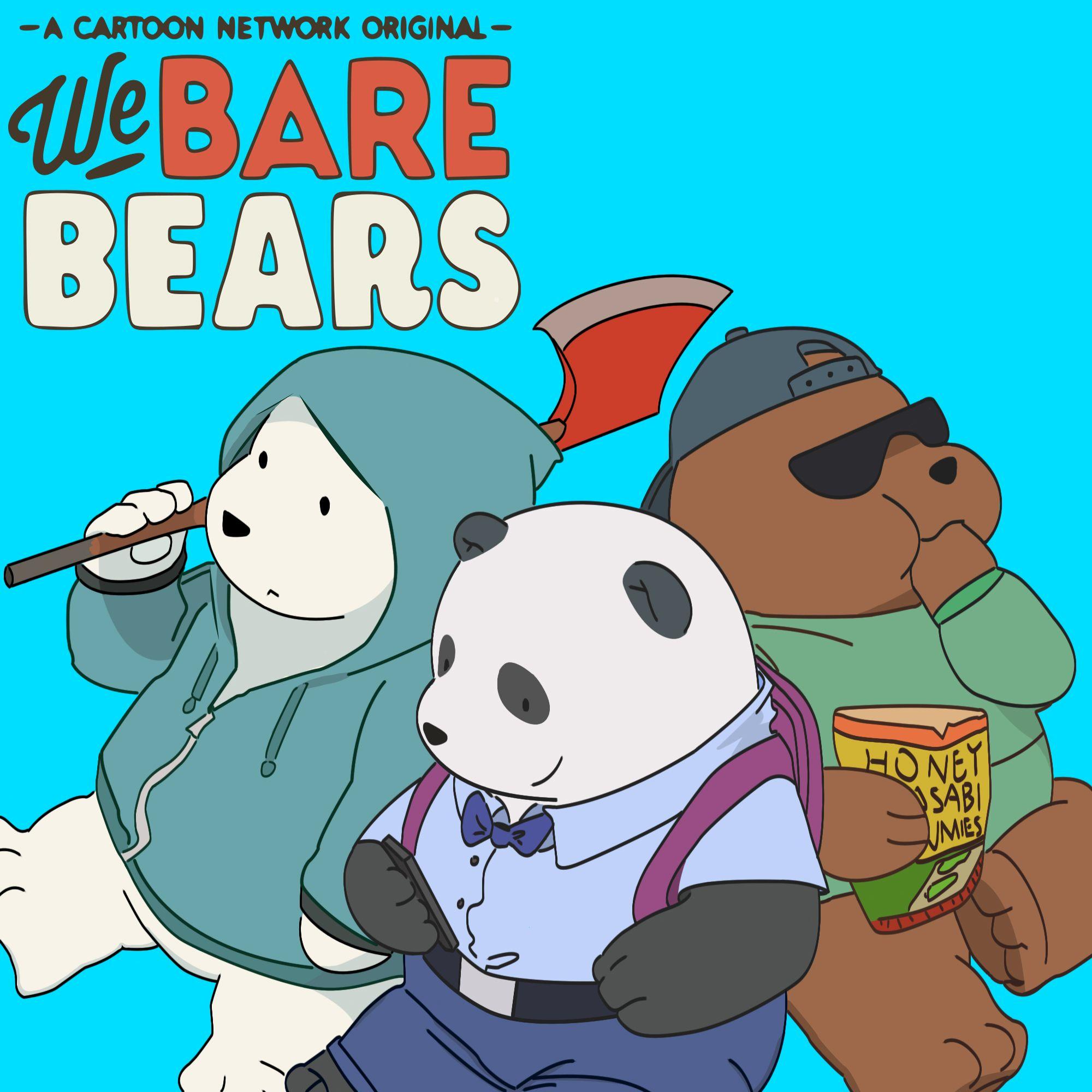 we_bare_bears_by_mikz101d98ai49.jpg (2000×2000) We bare