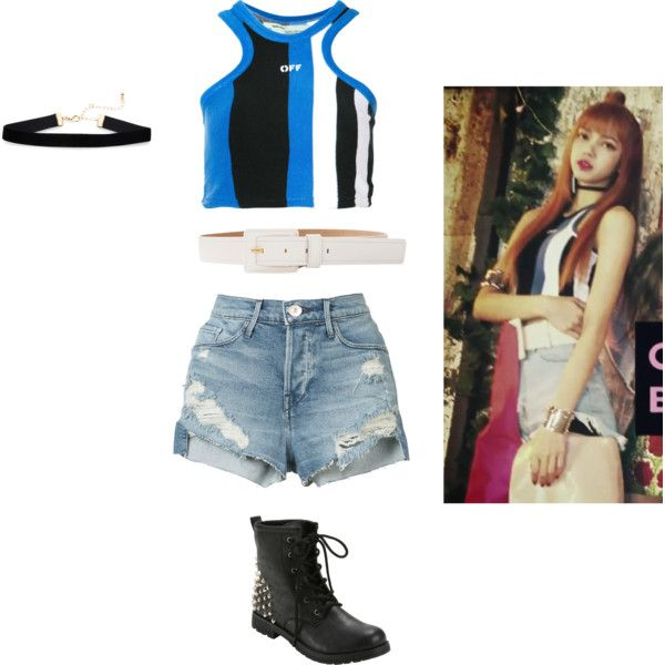 Lisa (BLACKPINK) \u0027As if it\u0027s your last\u0027 Outfit by rospark05 on Polyvore