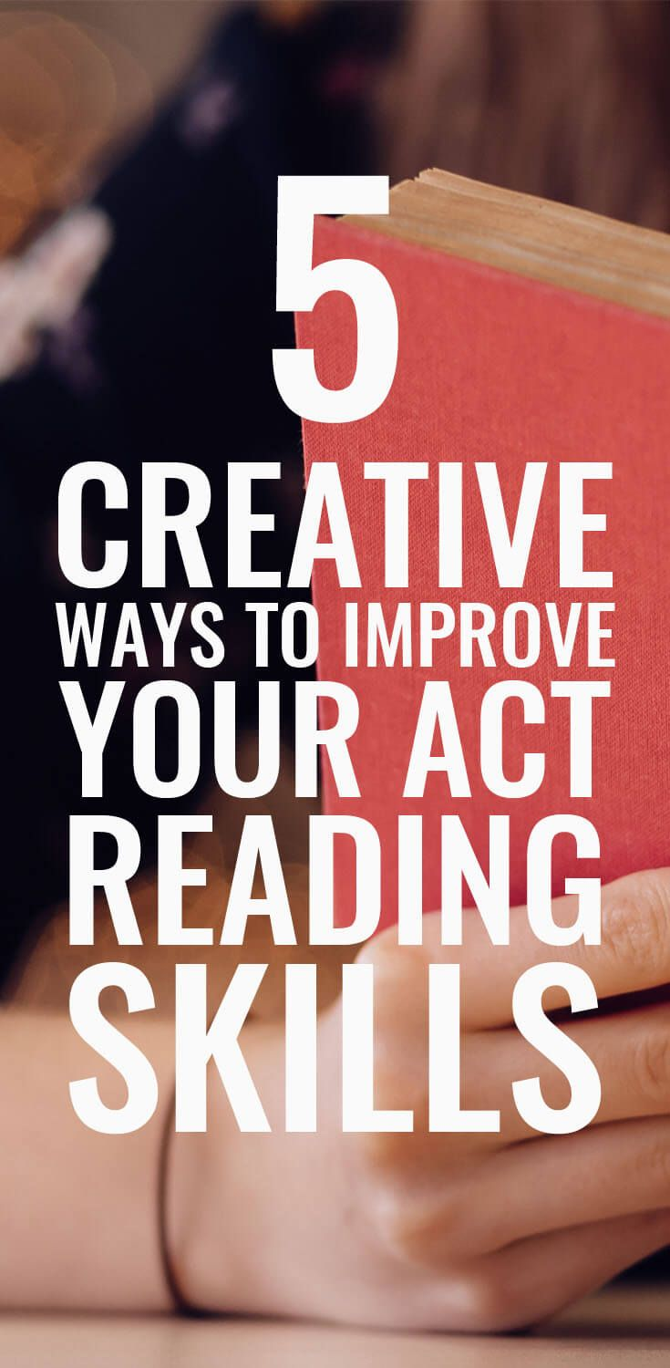 I like these different ways to study for the ACT Reading section