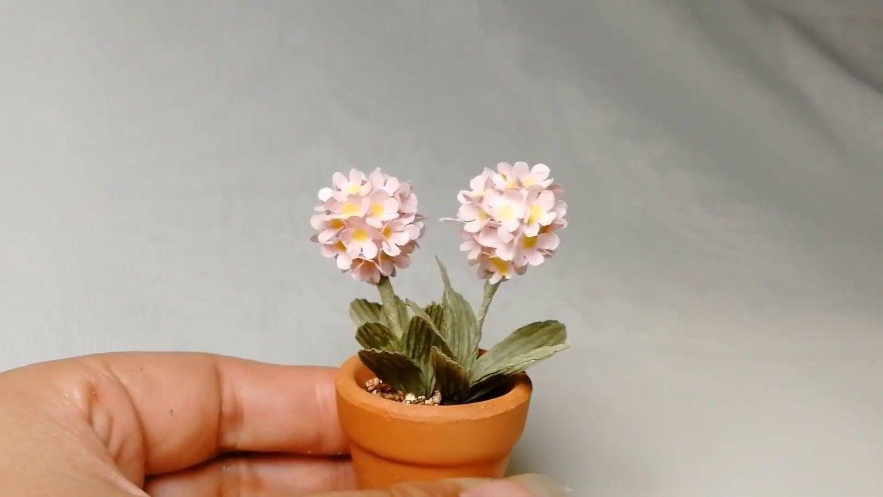 How To Make Lovely Primrose Mini Paper Flower Paper Flowers