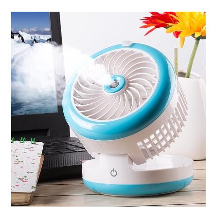 Mini Water Mist Fan USB Water Spray Cooling Fan Small