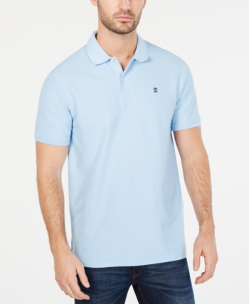 5a247487e DKNY Men Solid Polo Shirt in 2019 | Products | Dkny mens, Polo Shirt ...