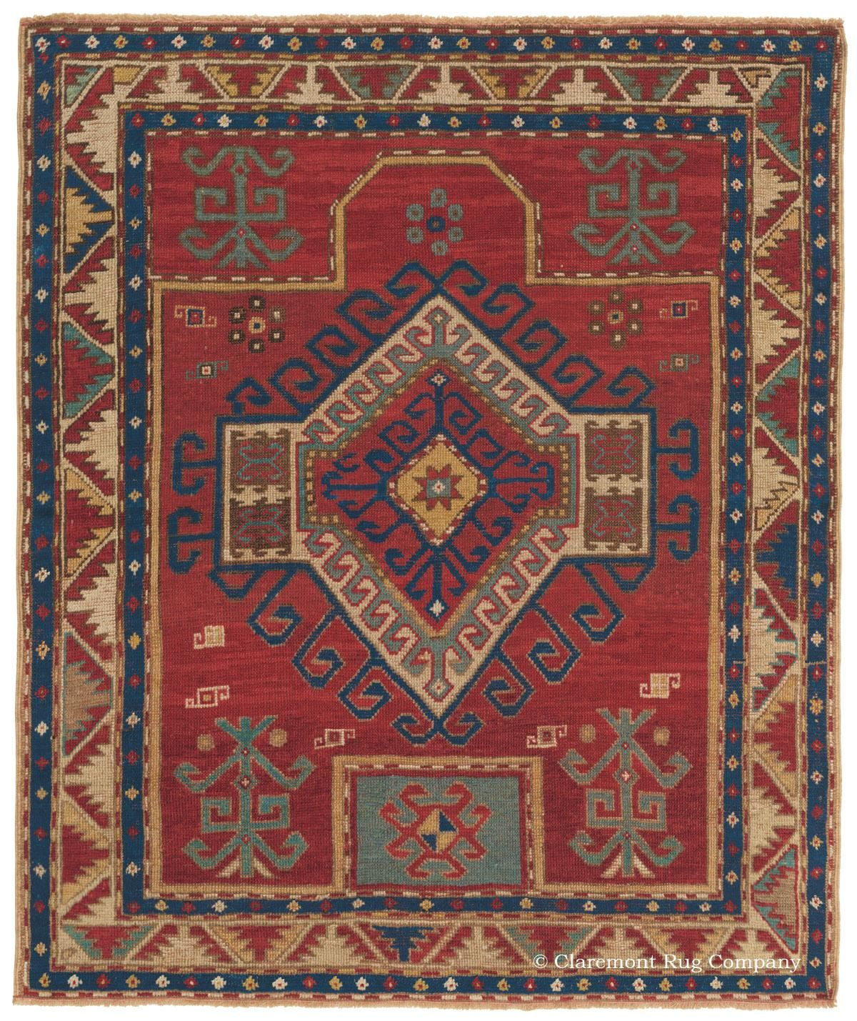 Basic Overview Of Antique Collectible Caucasian Rugs And Carpets Teppich Kunst Orientalisch