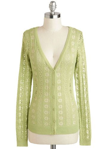 Sprout of Town Cardigan, #ModCloth