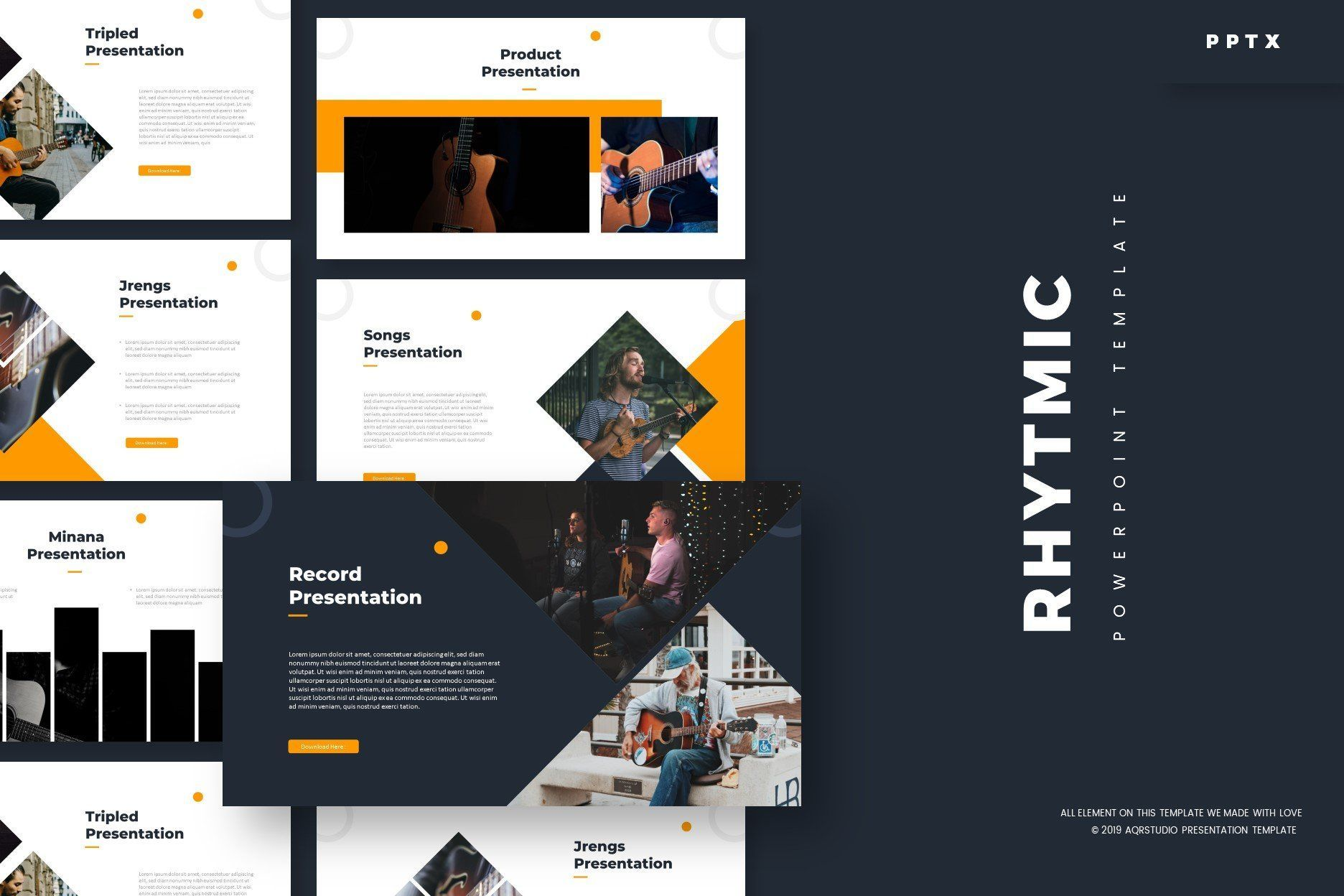 Clean Powerpoint Template Each Of These Professional Slides Has