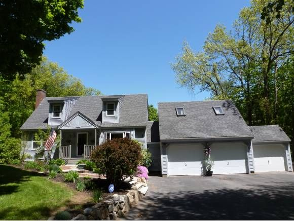 SOLD - Hooksett, NH - QUICK CLOSING POSSIBLE! A home like this one does not come along often. You will immediately notice the care the original owners have given this full dormered Cape.