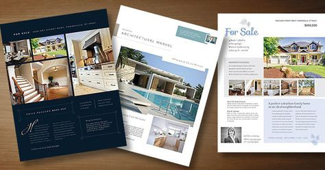 Real Estate Flyer Templates To Market Your Property  Marketing