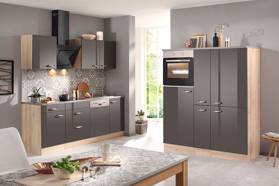 OPTIFIT Küchenzeile mit EGeräten »Calgary 360 cm«, Mit