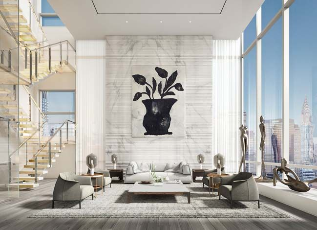 Delicieux Luxury Penthouse In New York By ODA Architecture