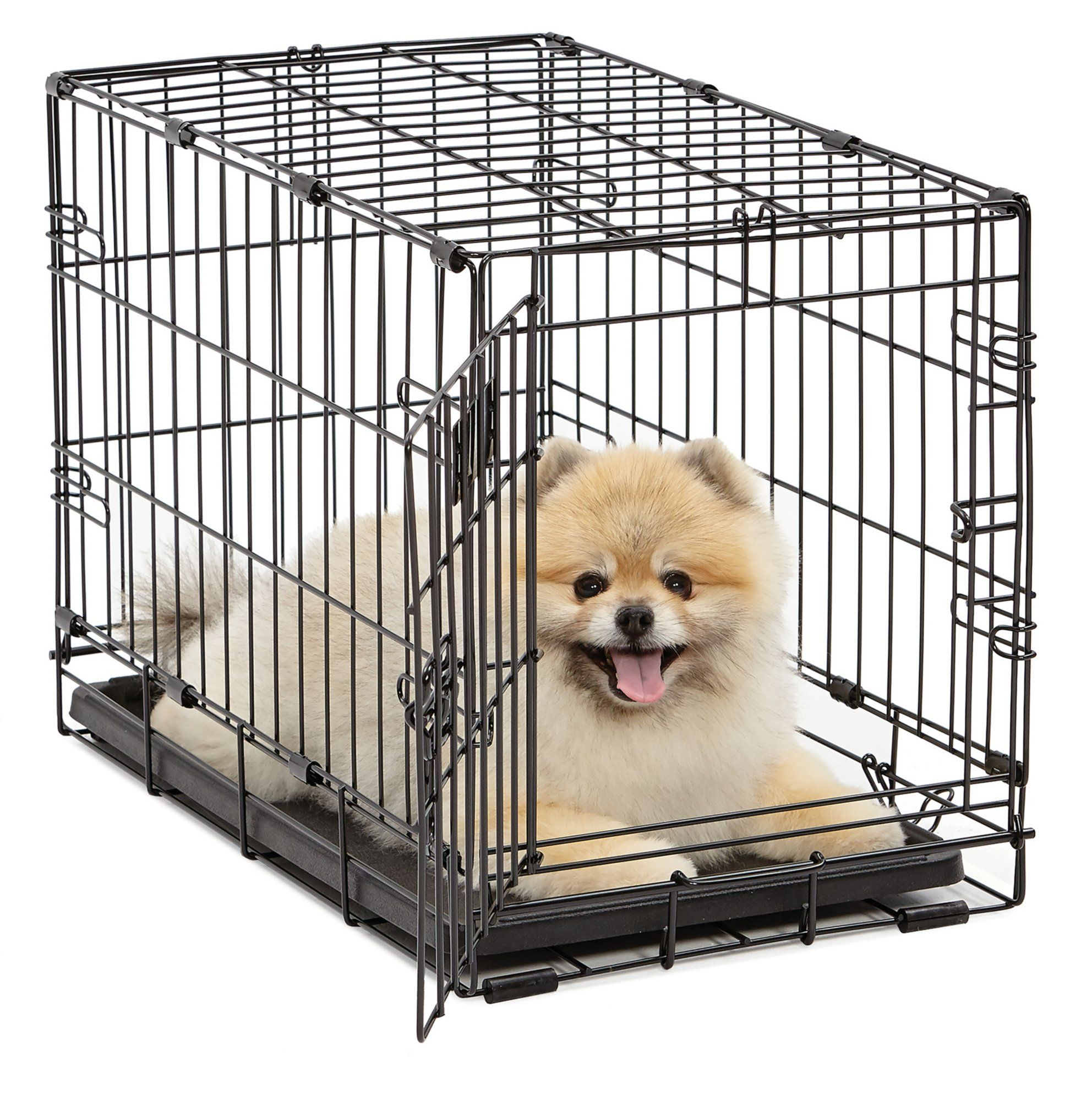 Midwest Icrate Single Door Folding Dog Crate 22 L X 13 W X 16