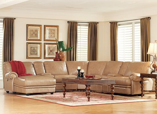 Living Rooms, Bentley Sectional, Living Rooms | Havertys Furniture
