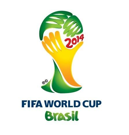 Free Fifa World Cup Brazil 2014 Logo Vector Titanui World Cup Logo Brazil World Cup Soccer World