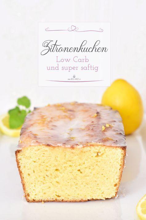 Low Carb Zitronenkuchen | Miss Fancy - Rezepte für jeden Tag