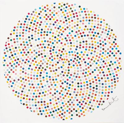 Maybe Not The Original But Could Replicate For Ollies Room Damien Hirst Paintings Hirst Damien Hirst