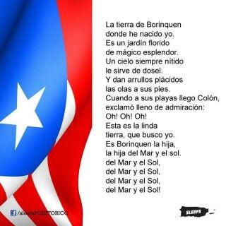Himno nacional la borinque a travel alrededor del mundo en 80 d as pinterest puerto - Nacionalidad de puerto rico en ingles ...