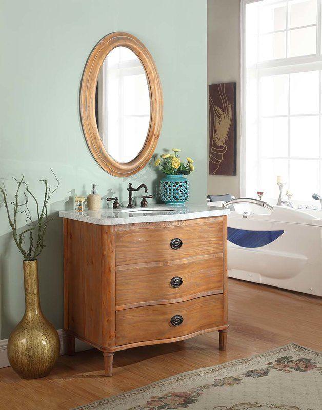 Vanna 36 Bathroom Vanity Set Wayfair 650 36 Inch Vanity Marble Vanity Tops Bathroom Vanity