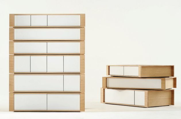 Pallet Drawer System A Series Of Stackable Drawer Units Available In Six Different Drawer Configurations Combine The Different Opti Drawer Unit Wood Creations