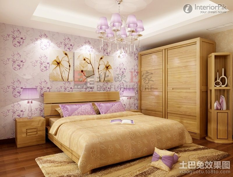pictures of ladies bedroom | ladies bedroom design effect chart