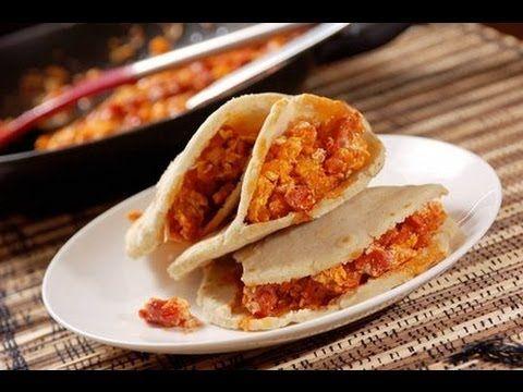 Gorditas de huevo con chorizo - Recetas de cocina mexicana