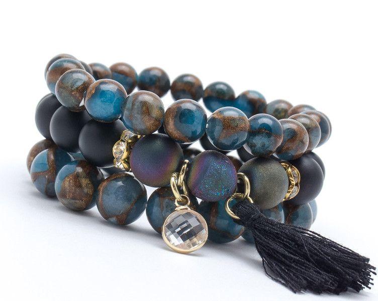 Bracelets – Set bracelets GAT 88 – a unique product by Blackif on DaWanda