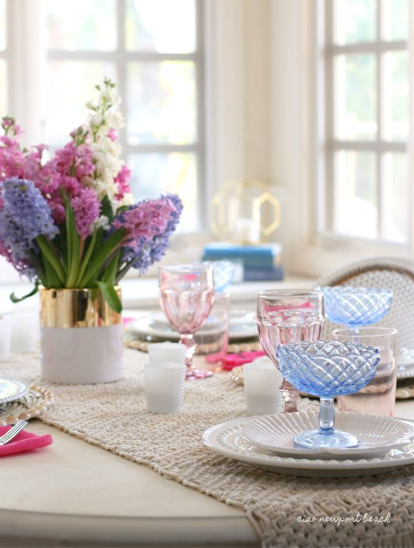 ciao! newport beach 10 favorite easter table settings & ciao! newport beach: 10 favorite easter table settings | Tablescapes ...