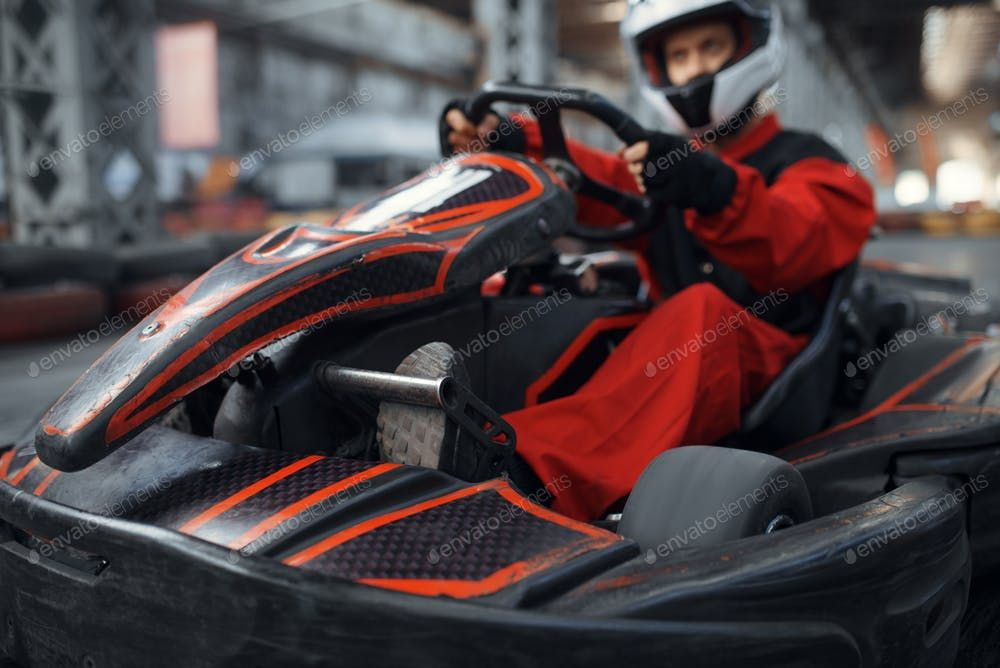 Kart racer enters the turn karting auto sport By NomadSoul1s photos