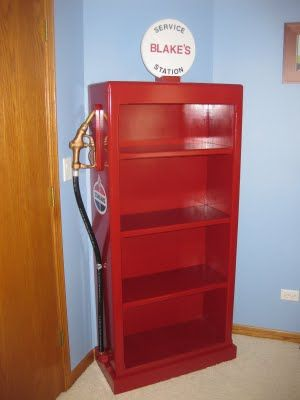Going To Attempt Make Harrison A Gas Pump Bookcase For His Big Boy Room
