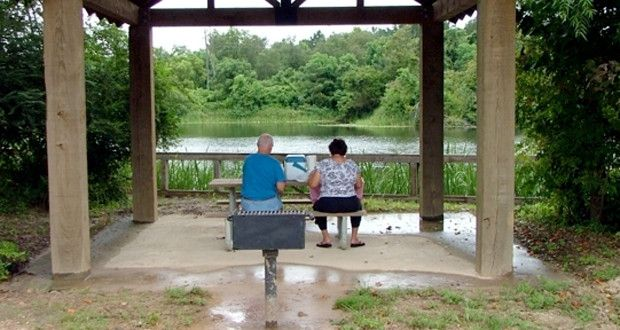 Camping at Bogue Chitto State Park in Louisiana - great
