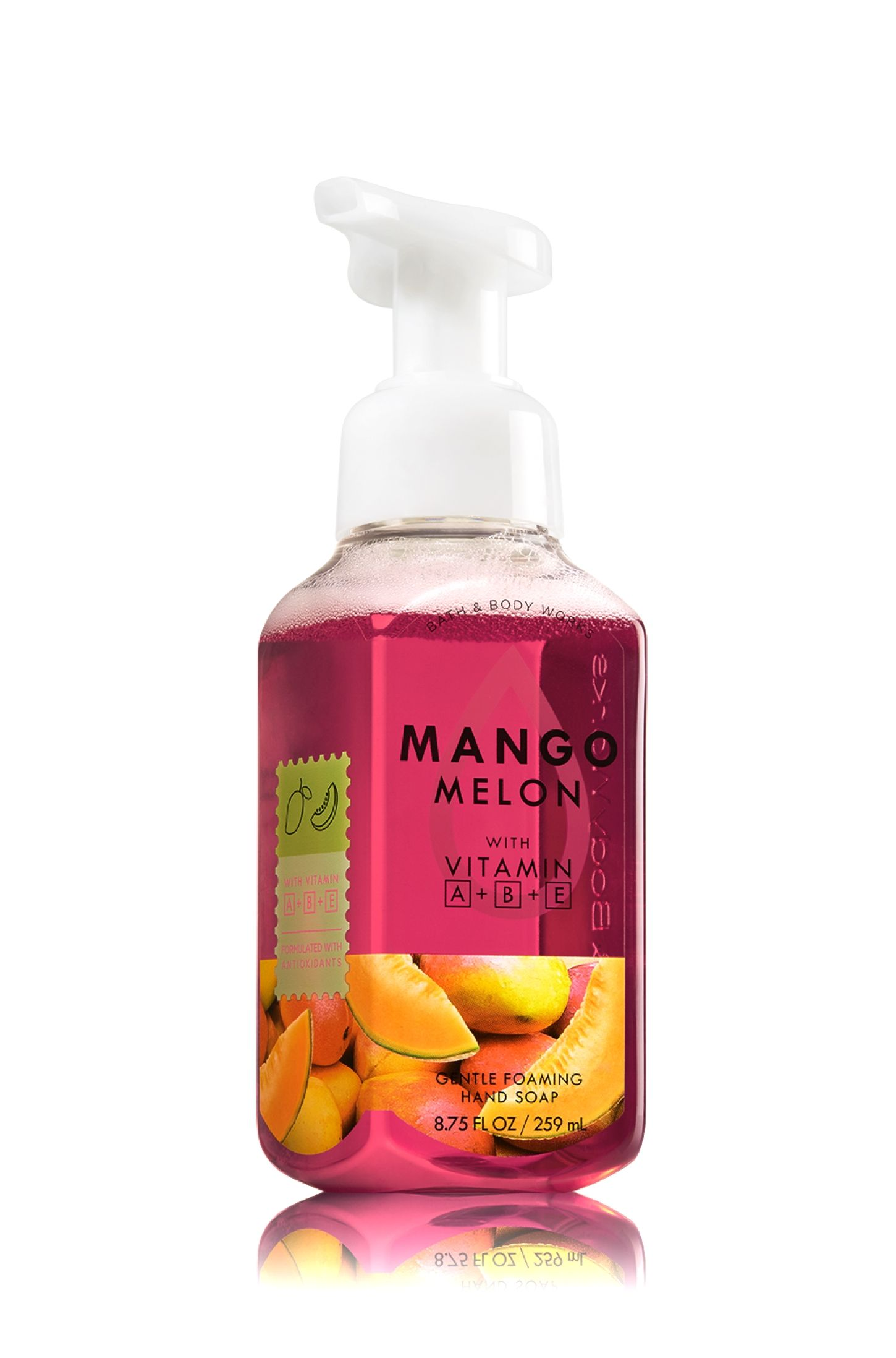 Mango Melon Gentle Foaming Hand Soap Soap Sanitizer Bath
