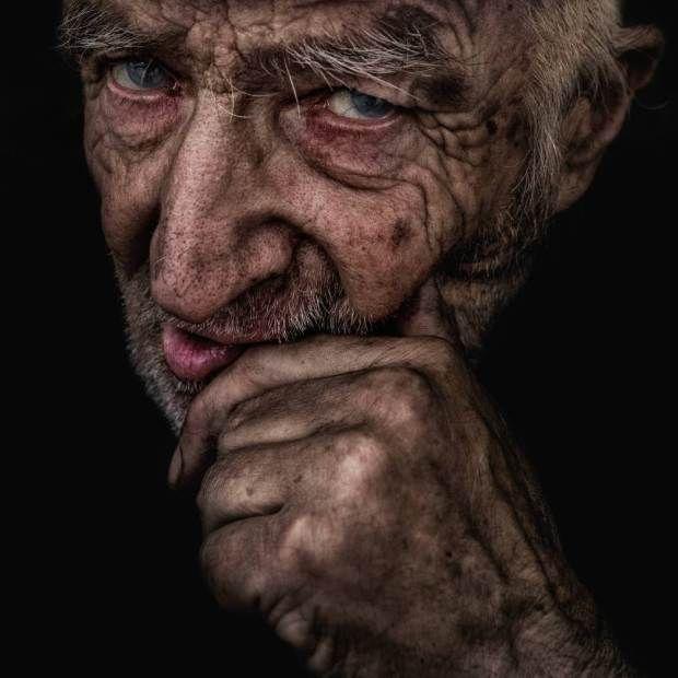 Photographer Lee Jeffries Striking Portraits Will Change: These Striking Portraits Will Change The Way You See