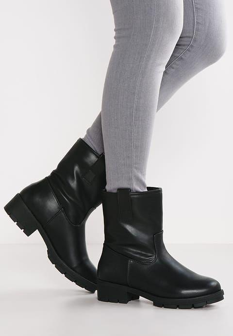 Anna Field Botki Black Zalando Pl Boots Biker Boot Shoes