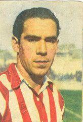 Telmo Zarra Of Athletic Bilbao In 1950 Athletic Cromos Bilbao