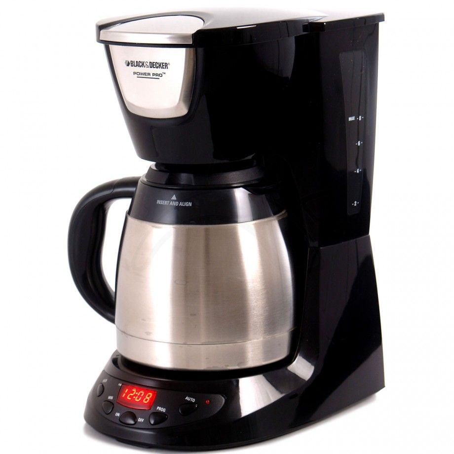 Black and decker cafetera de791b 8 tazas capacidad 8 - Taza termica para cafe ...