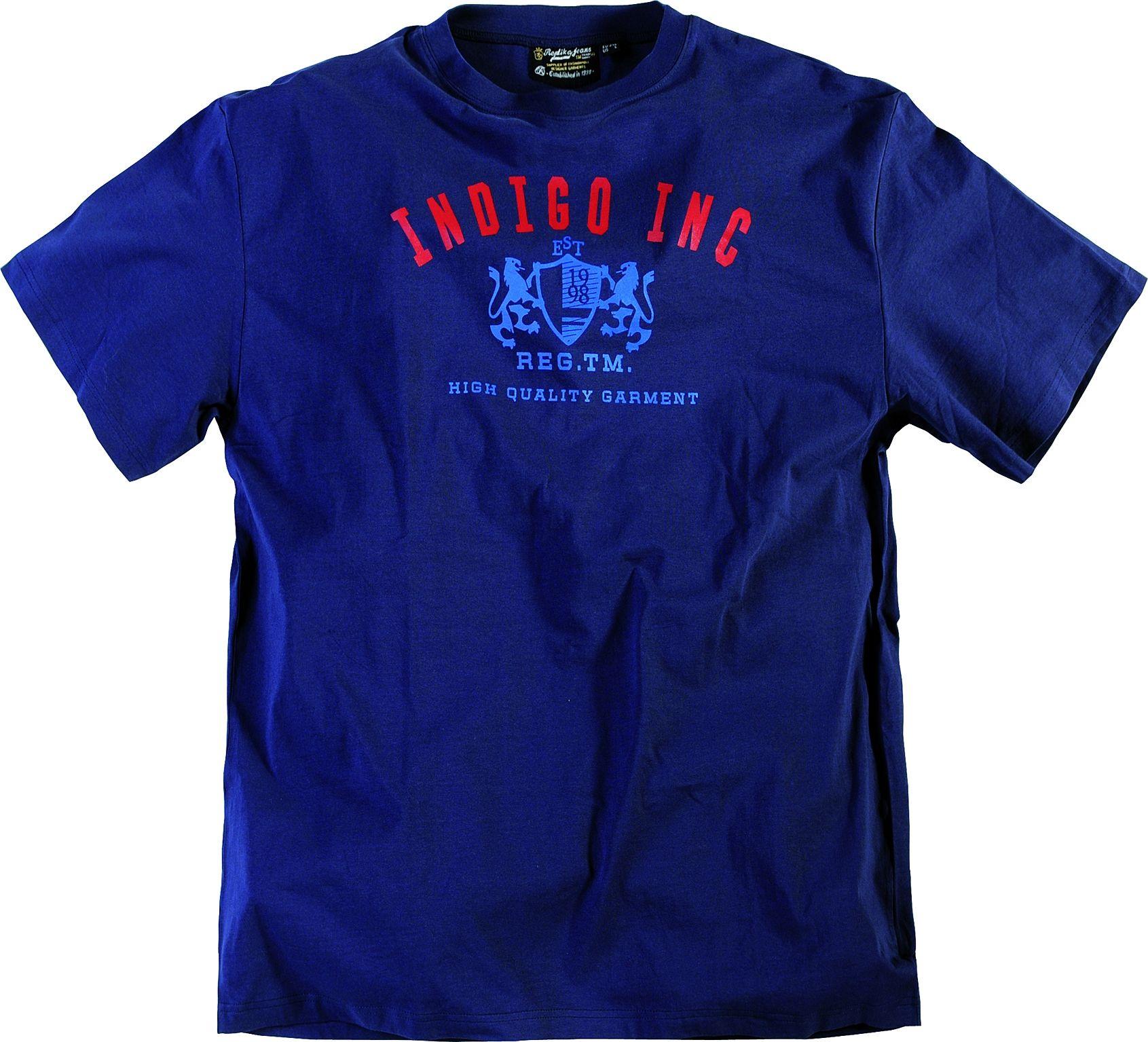 Tee-shirt allsize composé de Coton 100% Très beau coloris bleu marine avec  imprimé 26a33b98c2d4