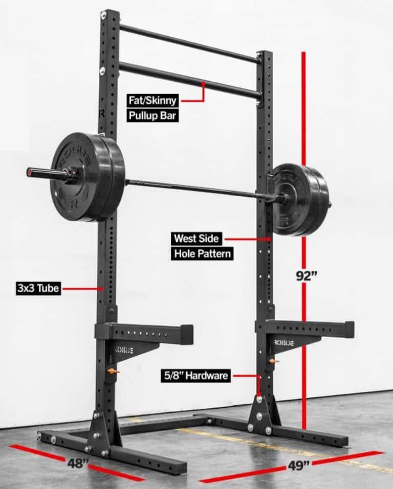 Rogue Sml 2 Monster Lite Squat Stand Great For A Garage Gym Home Gym Design Gym Room At Home Garage Gym