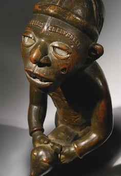 Kongo-Vili Power Figure, Democratic Republic of the Congo | lot | Sotheby's