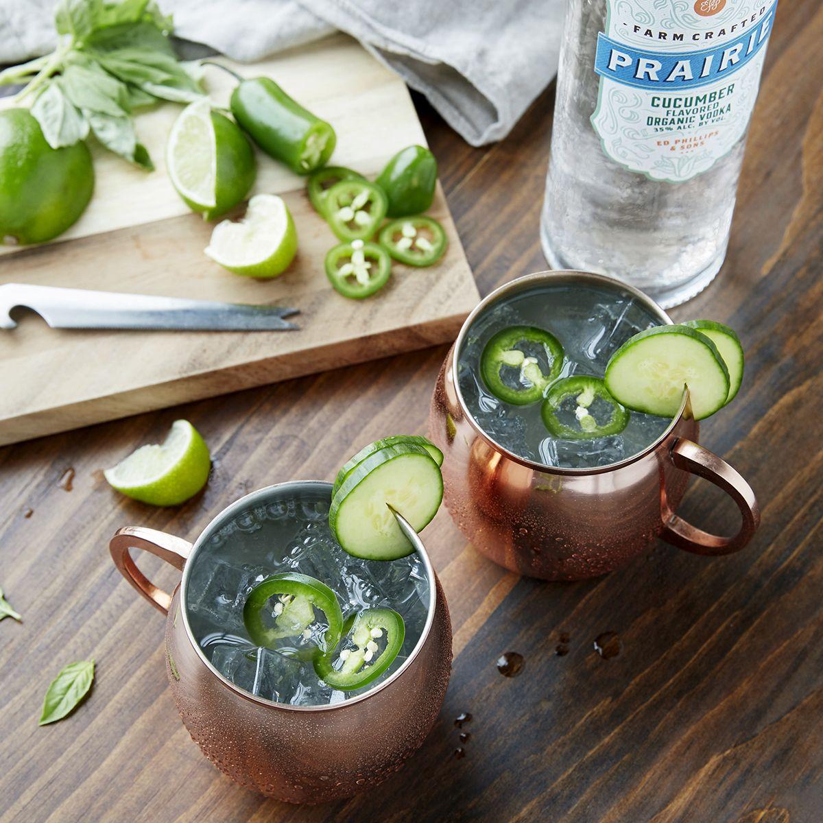 Cucumber Vodka, Mule Recipe, Cocktail