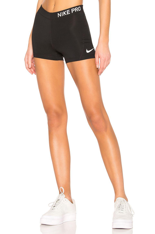 Nike Pro 3 Inch Short In Black White Nike Shorts Women Nike Pro Leggings Nike Pros