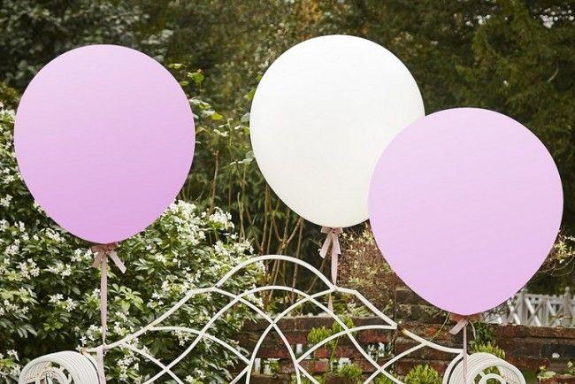 3 globos gigantes | Decoracion bodas, Globos rosados y Globos